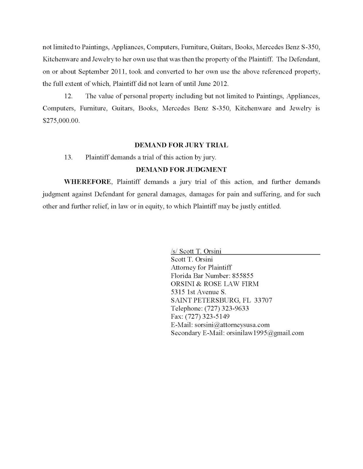 MorganStanleyGate: Theft & Malicious Prosecution Lawsuit