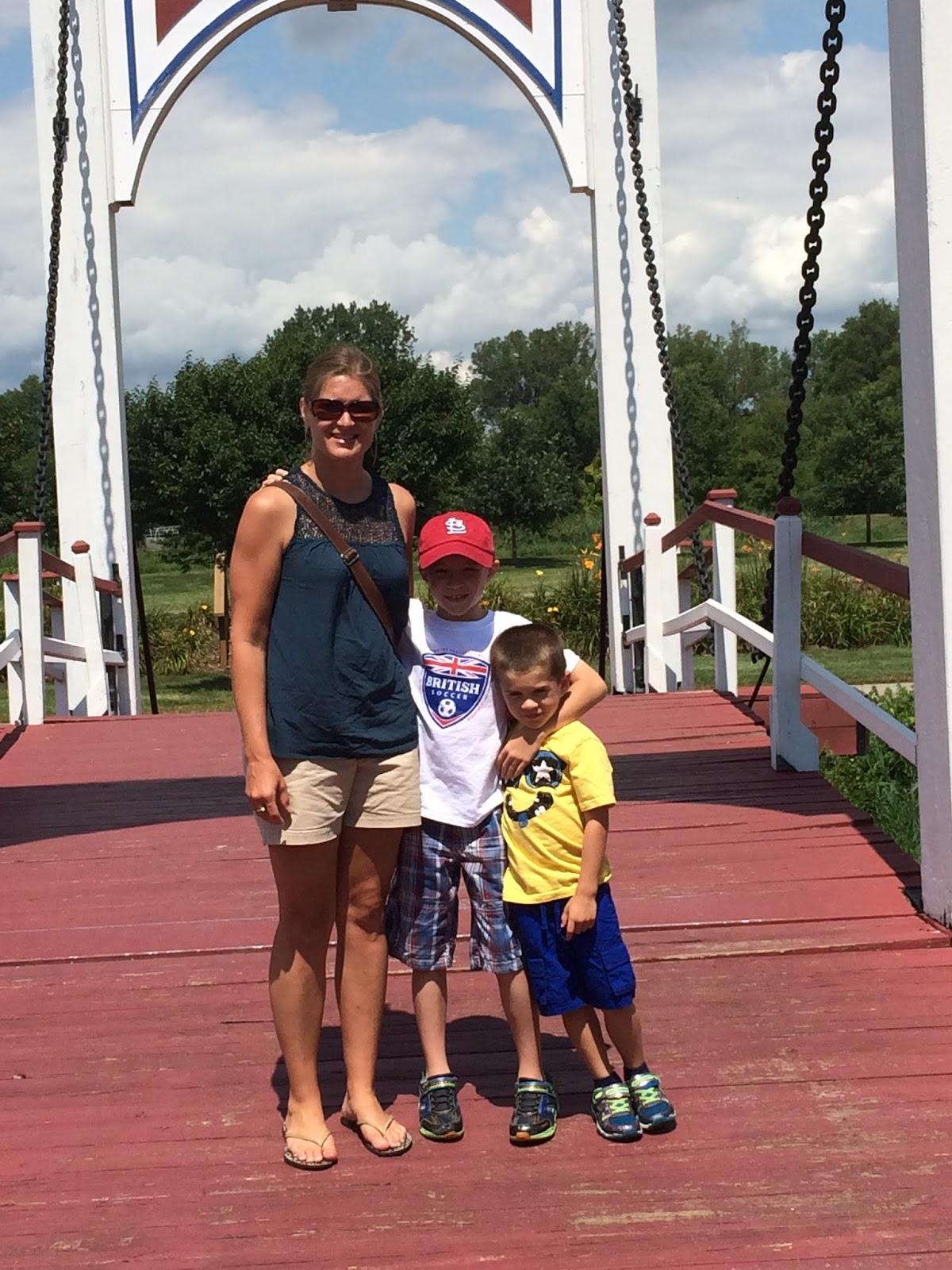 Scrogin Family: Windmill Island Gardens