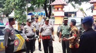 Wakapolda Sulsel,Kunjungi KPUD dan Kantor Camat Pattallassang