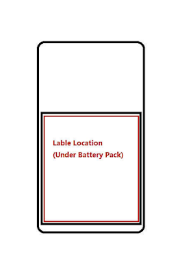 Nokia TA-1188 Label Location