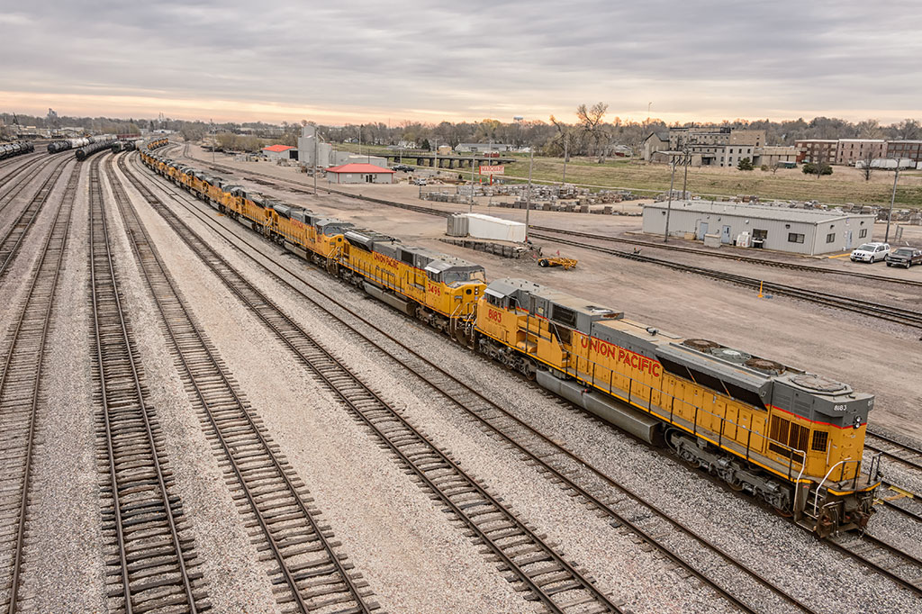 Union Pacific Railroad in Marshalltown, IA