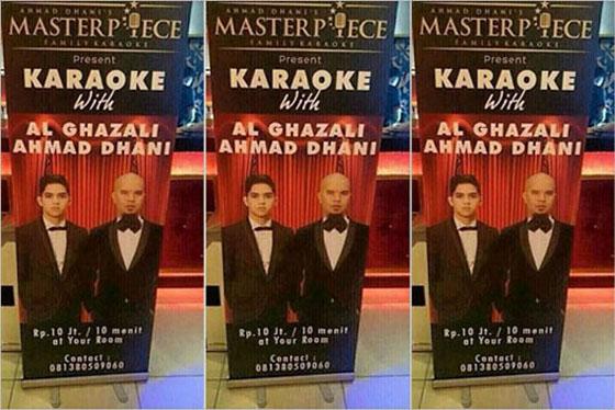 Tarif Karaoke Rp 10 Juta Per 10 Menit Ahmad Dhani dan Al