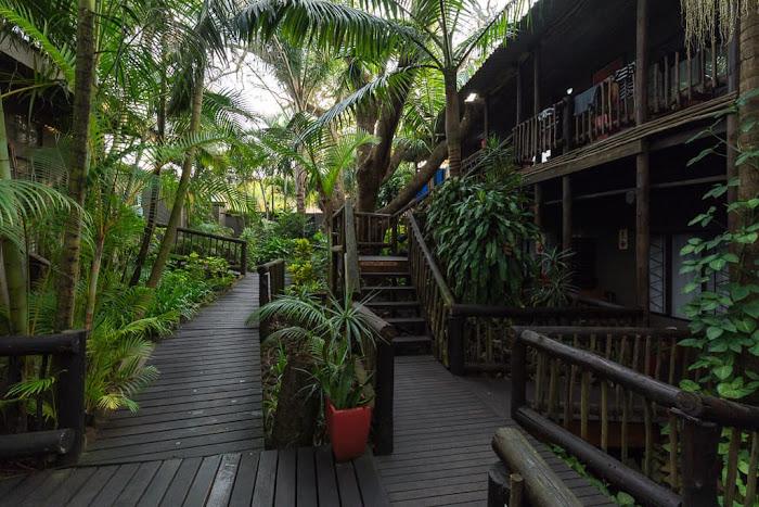 Pasarelas del Umlilo Lodge, St. Lucía, Sudáfrica