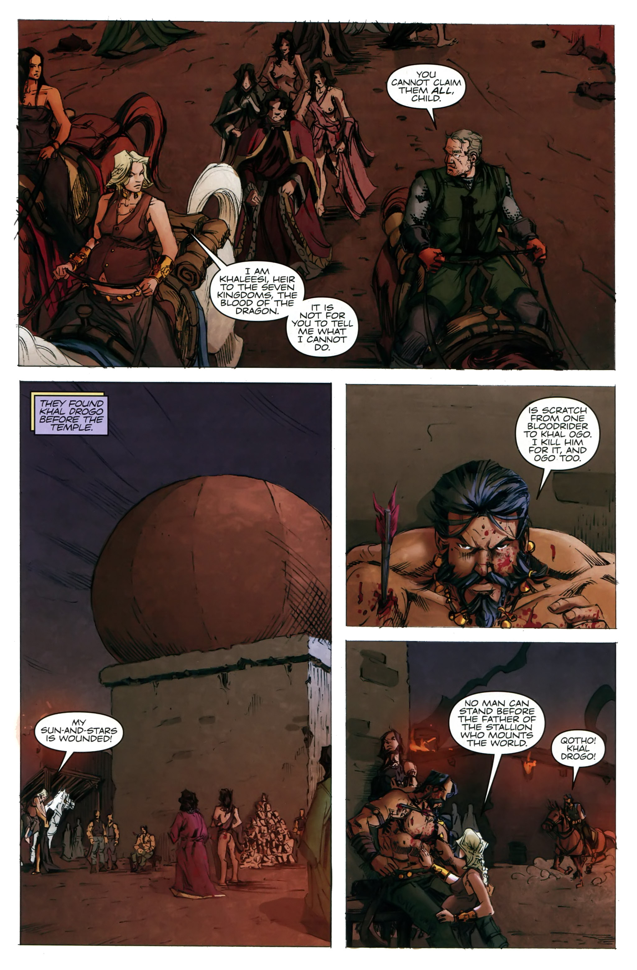 Read online A Game Of Thrones comic -  Issue #20 - 11