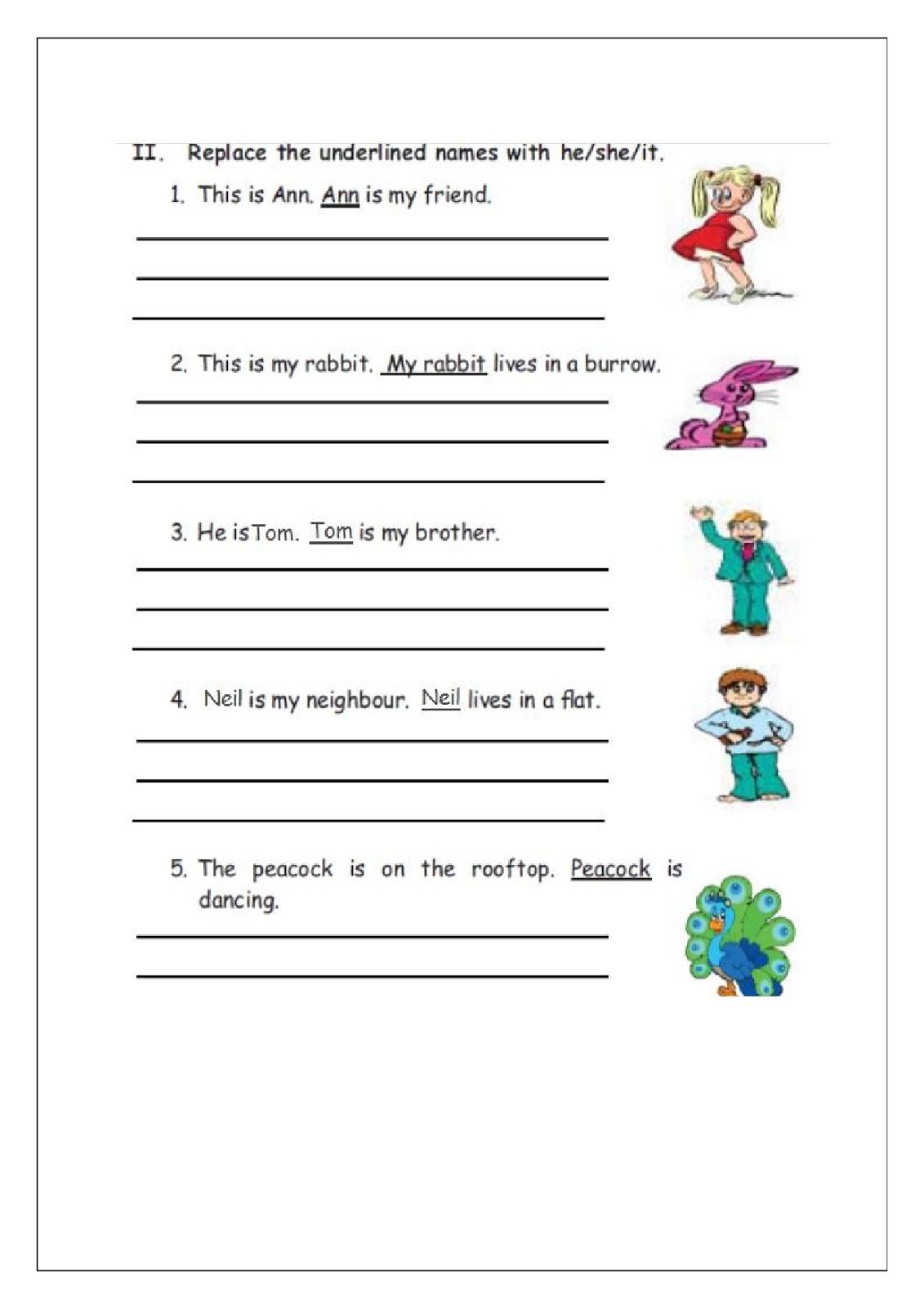 Birla World School Oman Homework For Grade 1b On 1 12 15