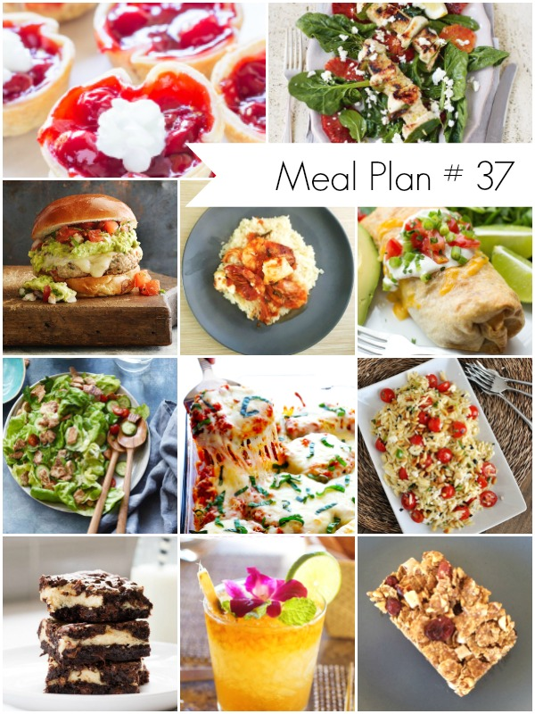 Weekly Meal Plan Ideas - Ioanna's Notebook