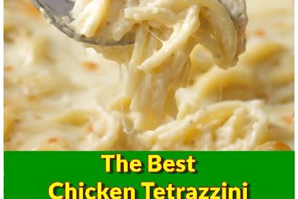 The Best Chicken Tetrazzini