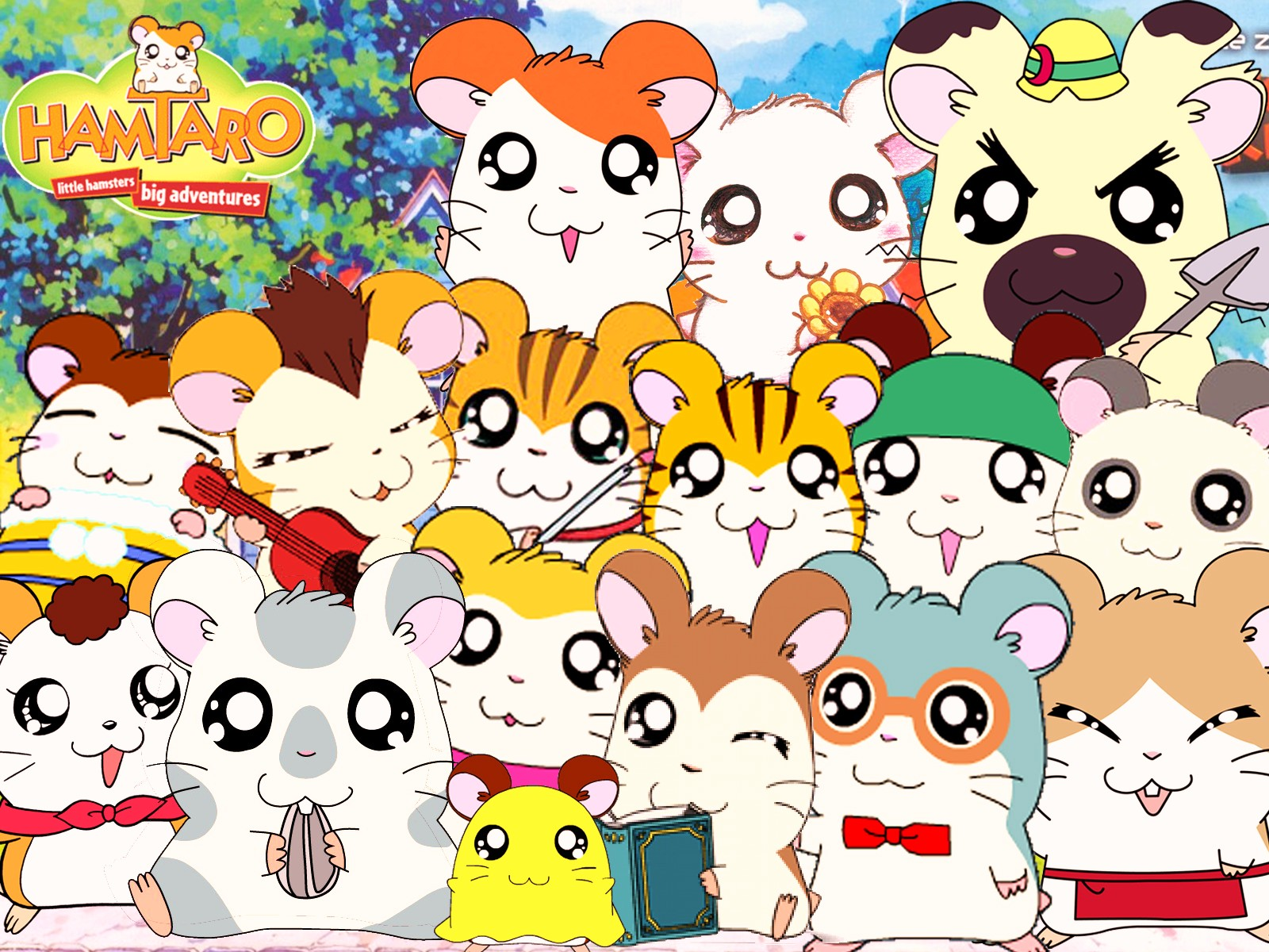 In It To Kouture It: Hamtaro And Friends!- Adorable But