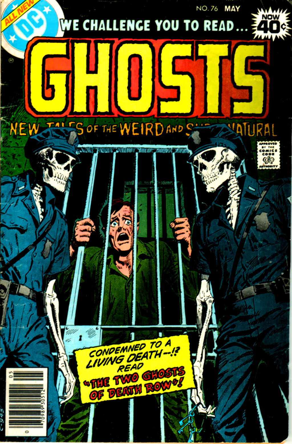 Read online Ghosts comic -  Issue #76 - 1