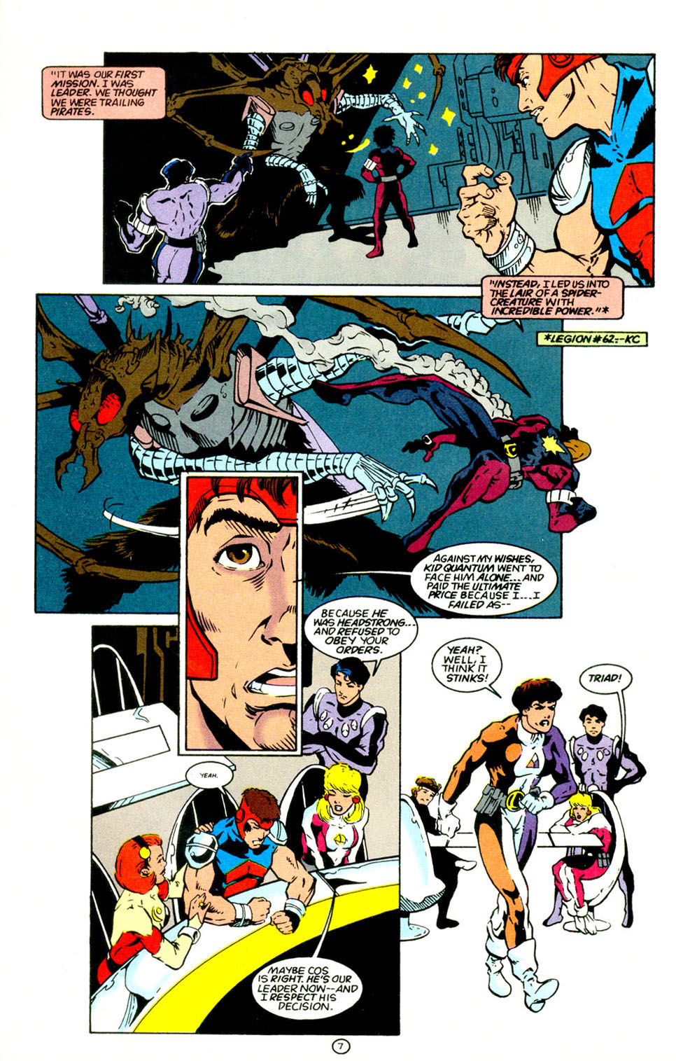 Legion of Super-Heroes (1989) 67 Page 7