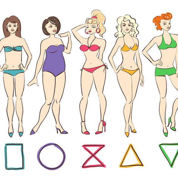 BODY SHAPES AND HOW TO DRESS THEM