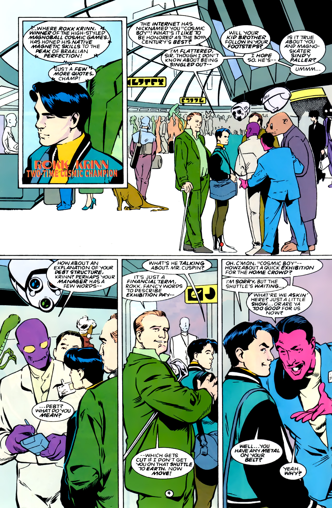 Legion of Super-Heroes (1989) 0 Page 4