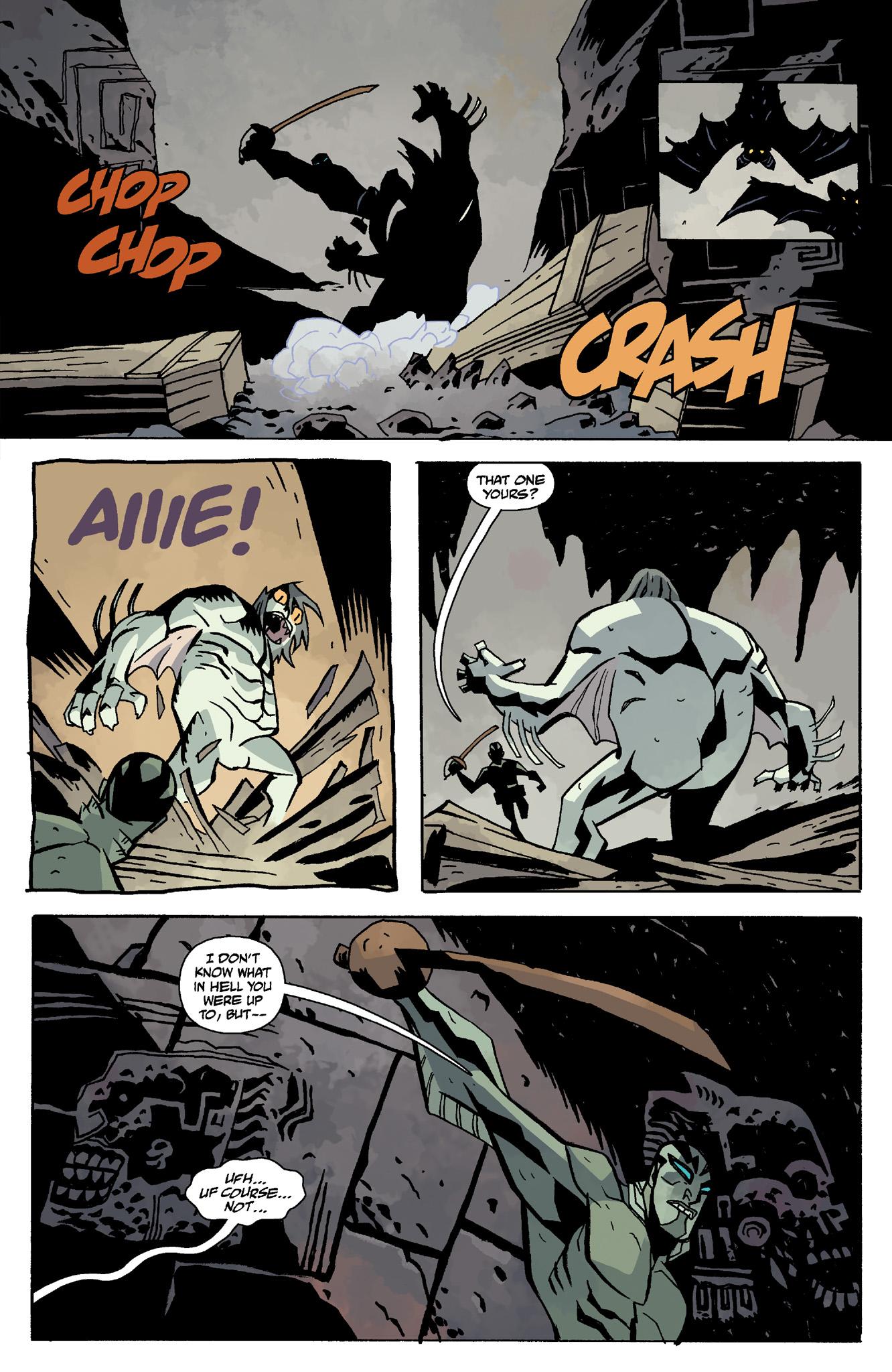 Read online Abe Sapien comic -  Issue #8 - 17