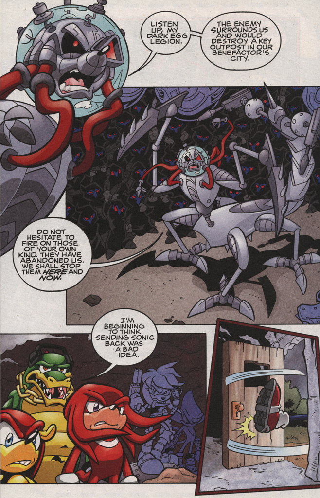 Read online Sonic The Hedgehog comic -  Issue #189 - 30
