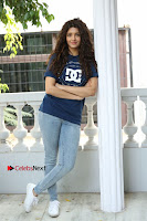 Actress Rithika Sing Latest Pos in Denim Jeans at Guru Movie Interview  0082.JPG