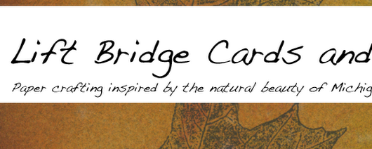 Lift Bridge Cards and Crafts: A desk calendar for a new year - Graffiti blog hop