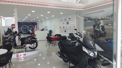 Sala de exhibicion y ventas de motocicletas SYM en CALI