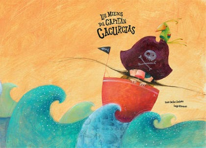 recomendación libros infantiles Dia del libro, pirata cacurcias