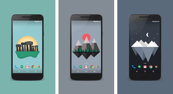New mobile wallpaper apps for android