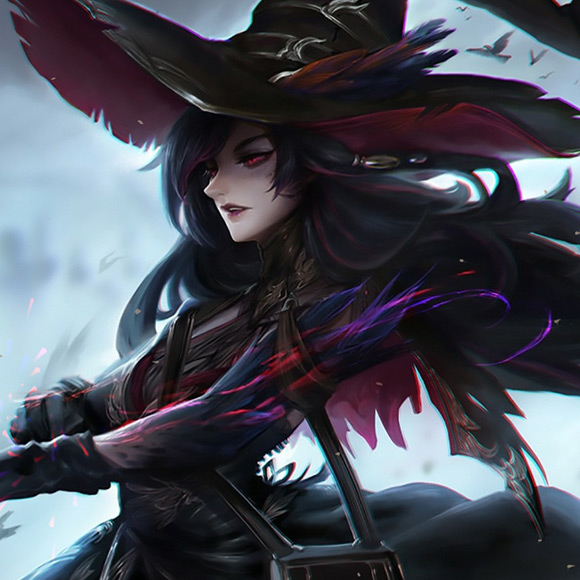 Fantasy Witch Wallpaper Engine