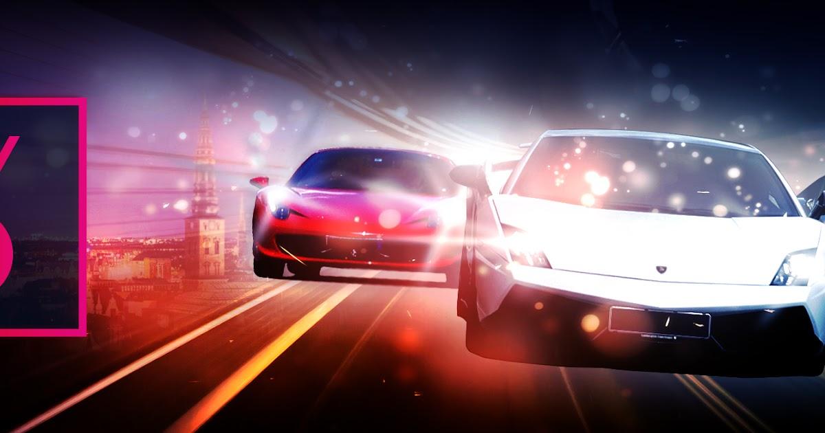 Vind en tur i en Lamborghini, en Ferrari, en Audi og en Porsche
