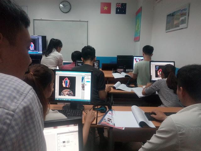 Các học viên trong khóa học html/css