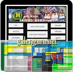 Format Absensi Siswa SD, SMP, SMA Terbaru Dan Otomatis | Galeri Guru