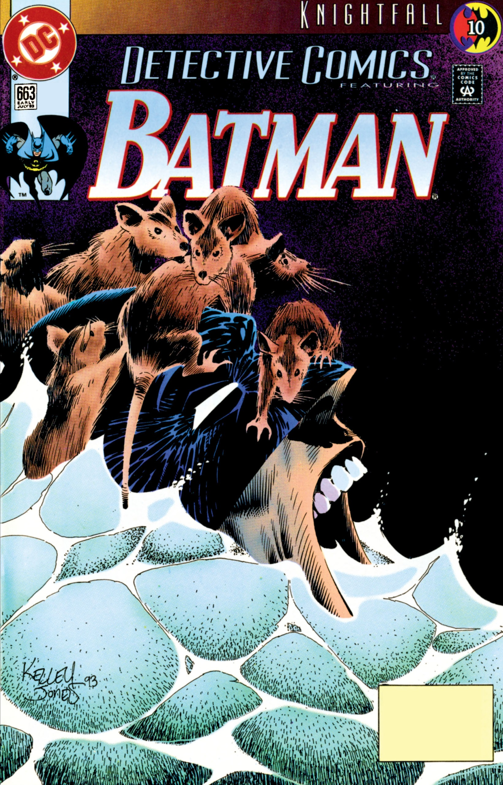 Detective Comics (1937) 663 Page 1