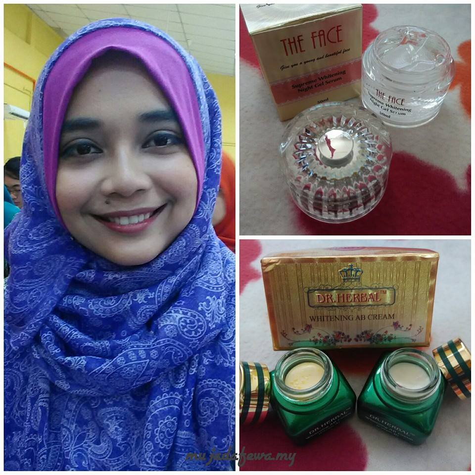 citra mulia kosmetik, kosmetik citra mulia, dr. herbal, the face