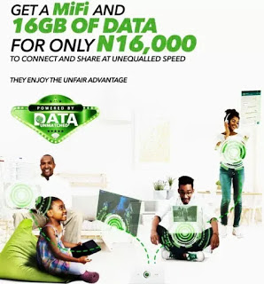 GLO 16gb offer
