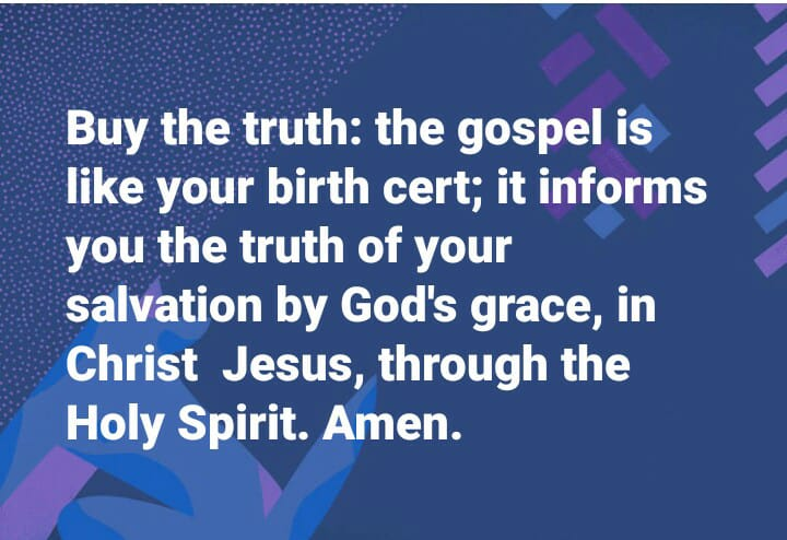 Things New and Old: The gospel is like your birth certificate