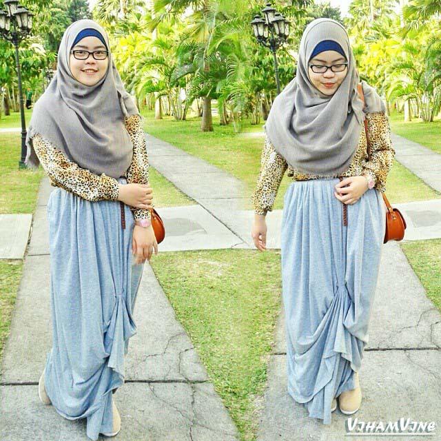 Mau Tampilan Hijab Penuh Inspirasi Follow 9 Hijab Blogger ini, Sekarang_Indah riyanti putri
