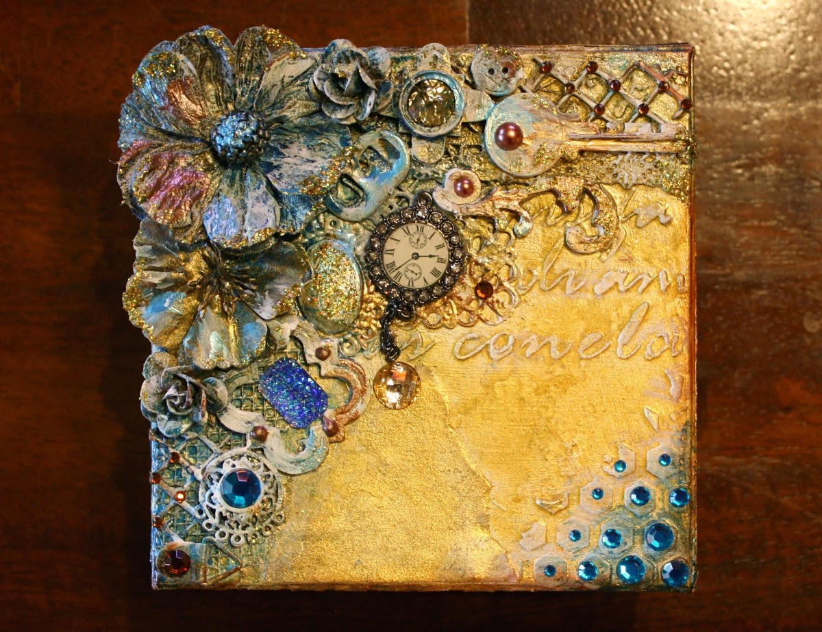 Home Interior Wall Hangings Such A Pretty Mess Video Tutorial Mixed Media Steampunk