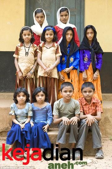 Uniknya Desa Kembar di Kodinhi India