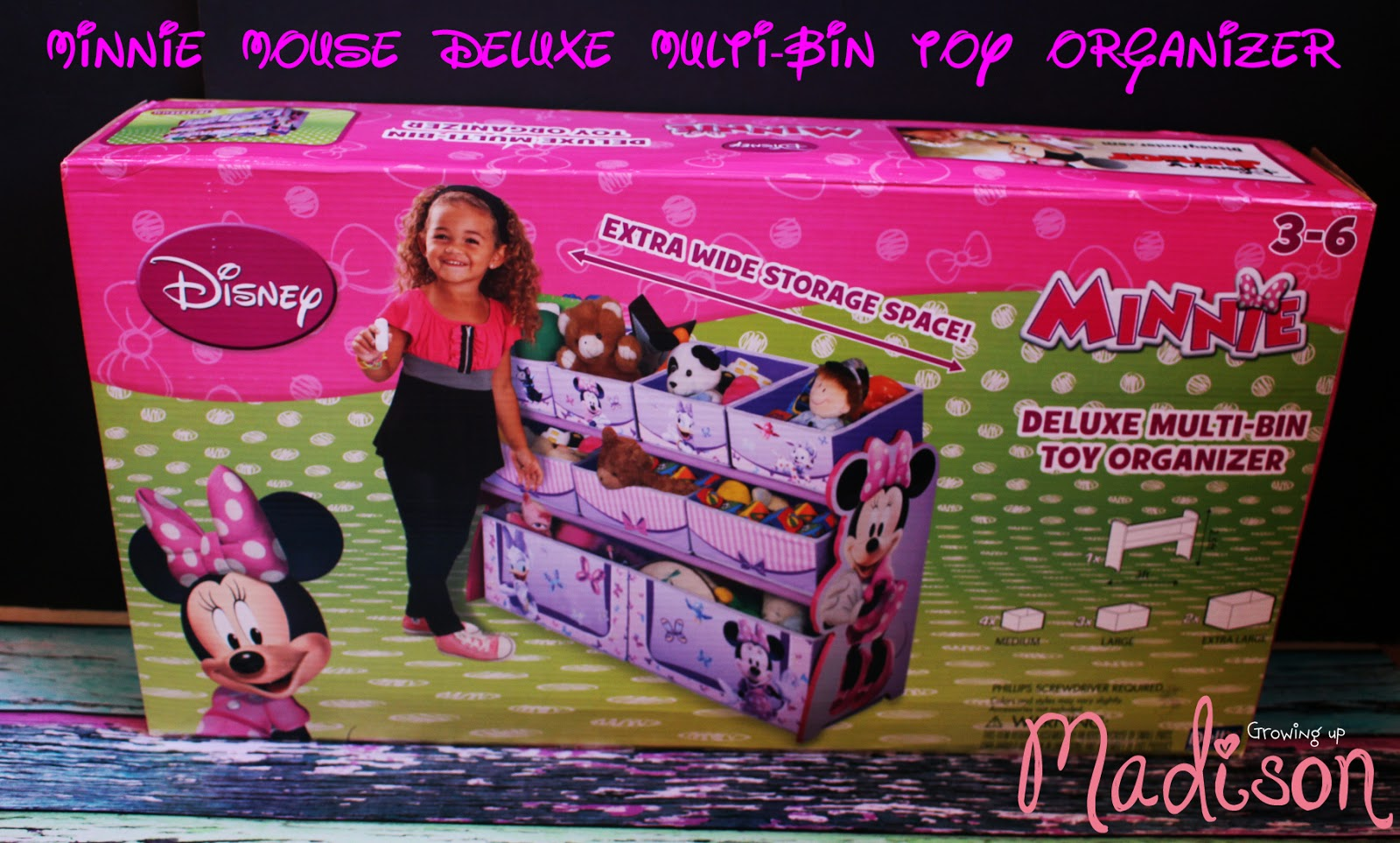 ... Bin Mult Bin Toy Organizer In My Favorite Pattern, Minnie Mouse. You  All Know How Obsessed I Am About Minnie. I Was Even Her For Halloween.