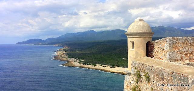 Castelo de San Pedro de la Roca, em Santiago de Cuba