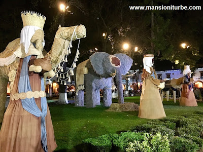 Artisan Nativity in Pátzcuaro at Vasco de Quiroga Square