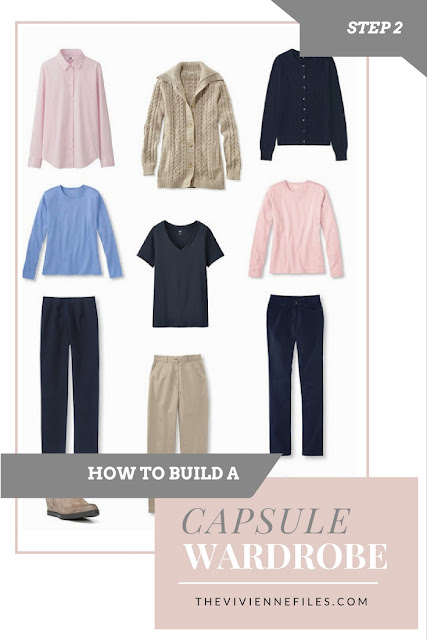 How to build a capsule wardrobe from scratch - Step 2