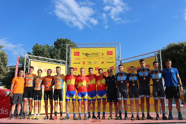Cataluña, campeona de España de TeamRela