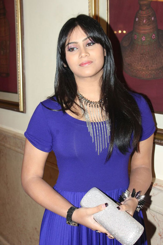 splendid Tulasi nair in blue top latest photoshoot