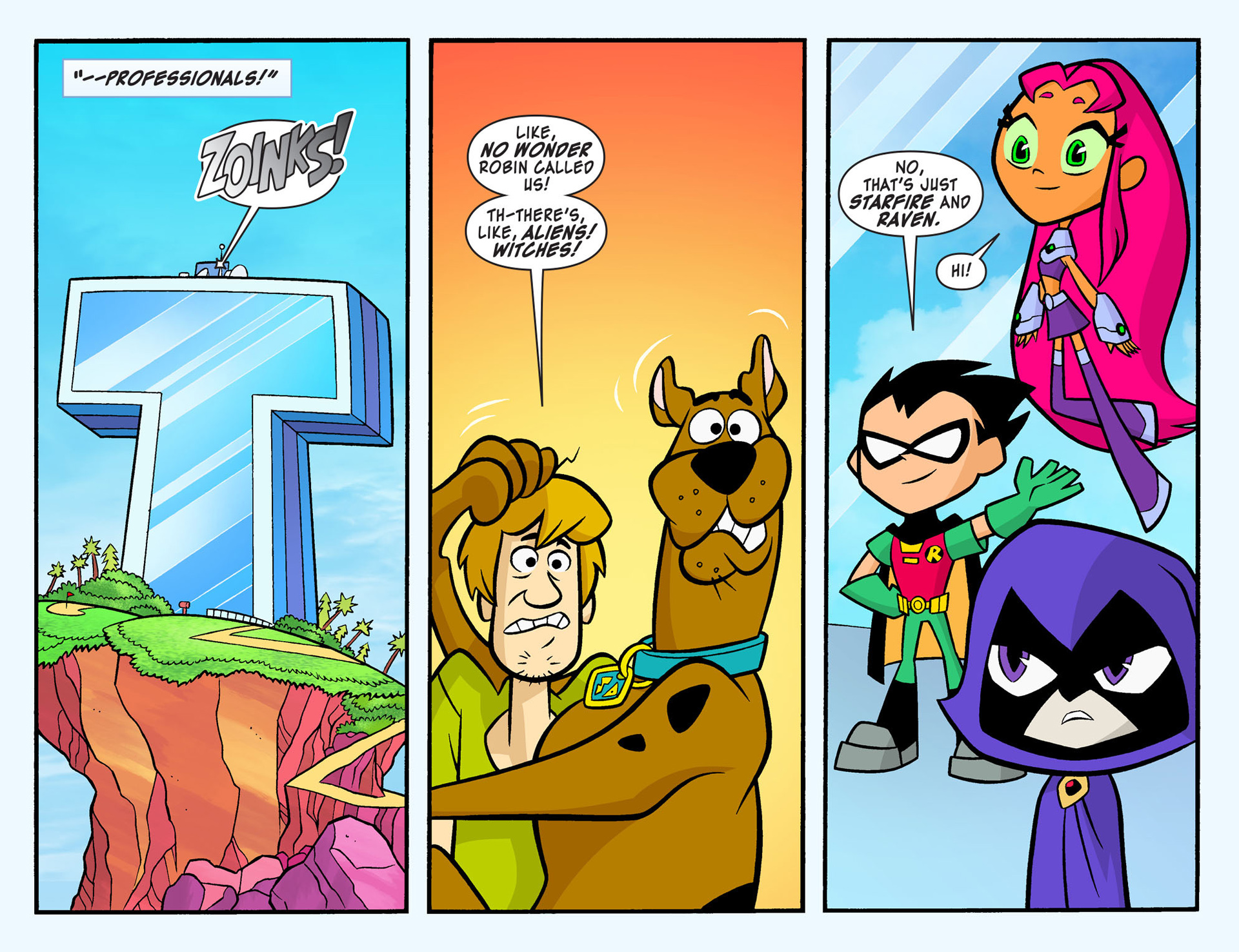 Read online Scooby-Doo! Team-Up comic -  Issue #7 - 5