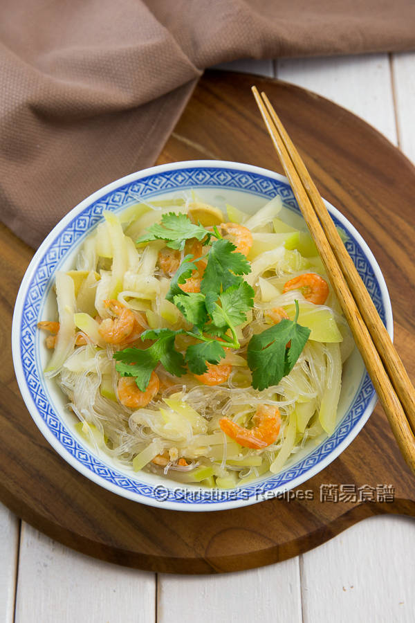Hairy gourd Vermicelli and Dried Shrimps01