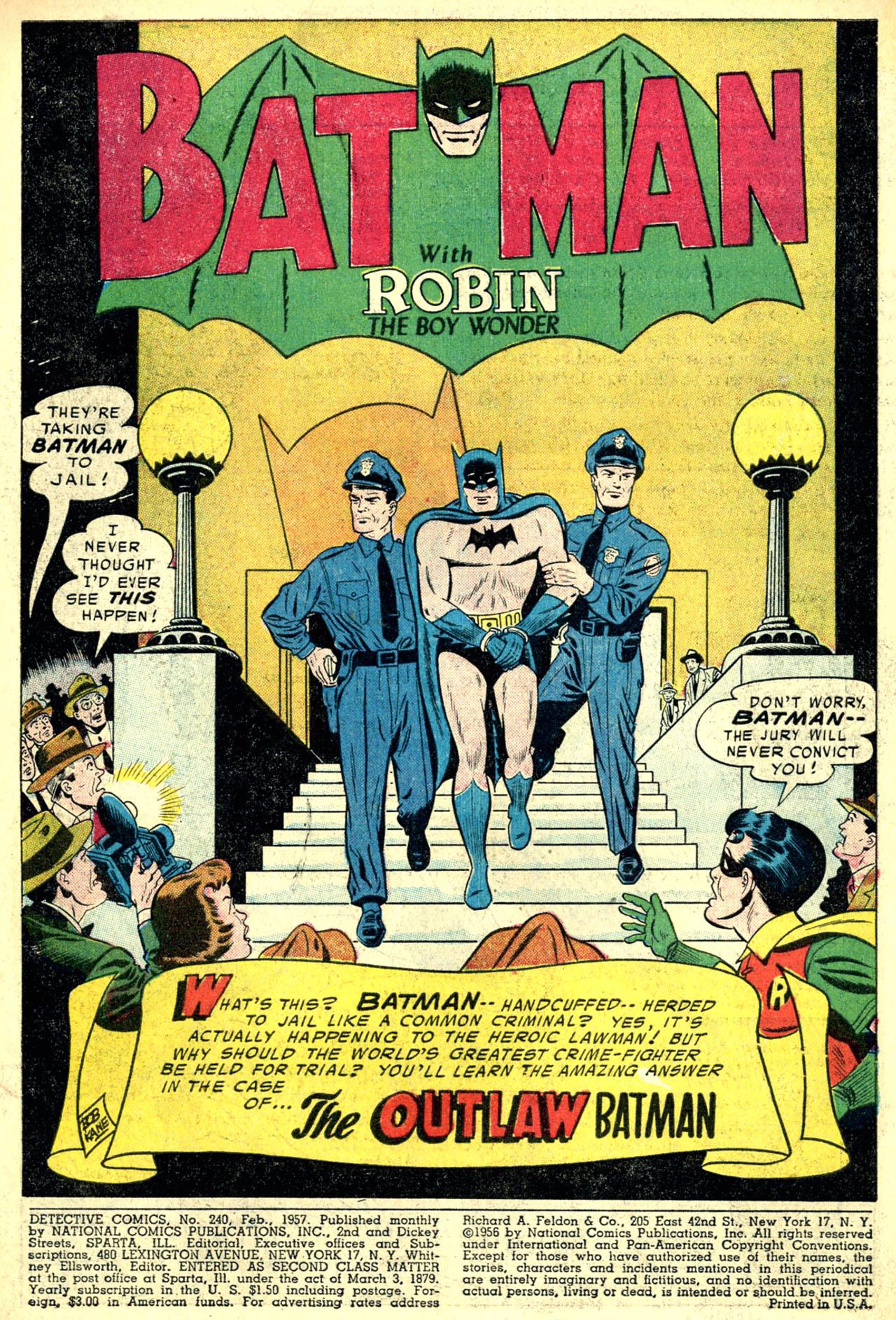 Detective Comics (1937) 240 Page 2