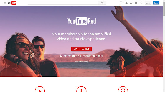 YouTube Red cost $9.99 US Dollars a month.
