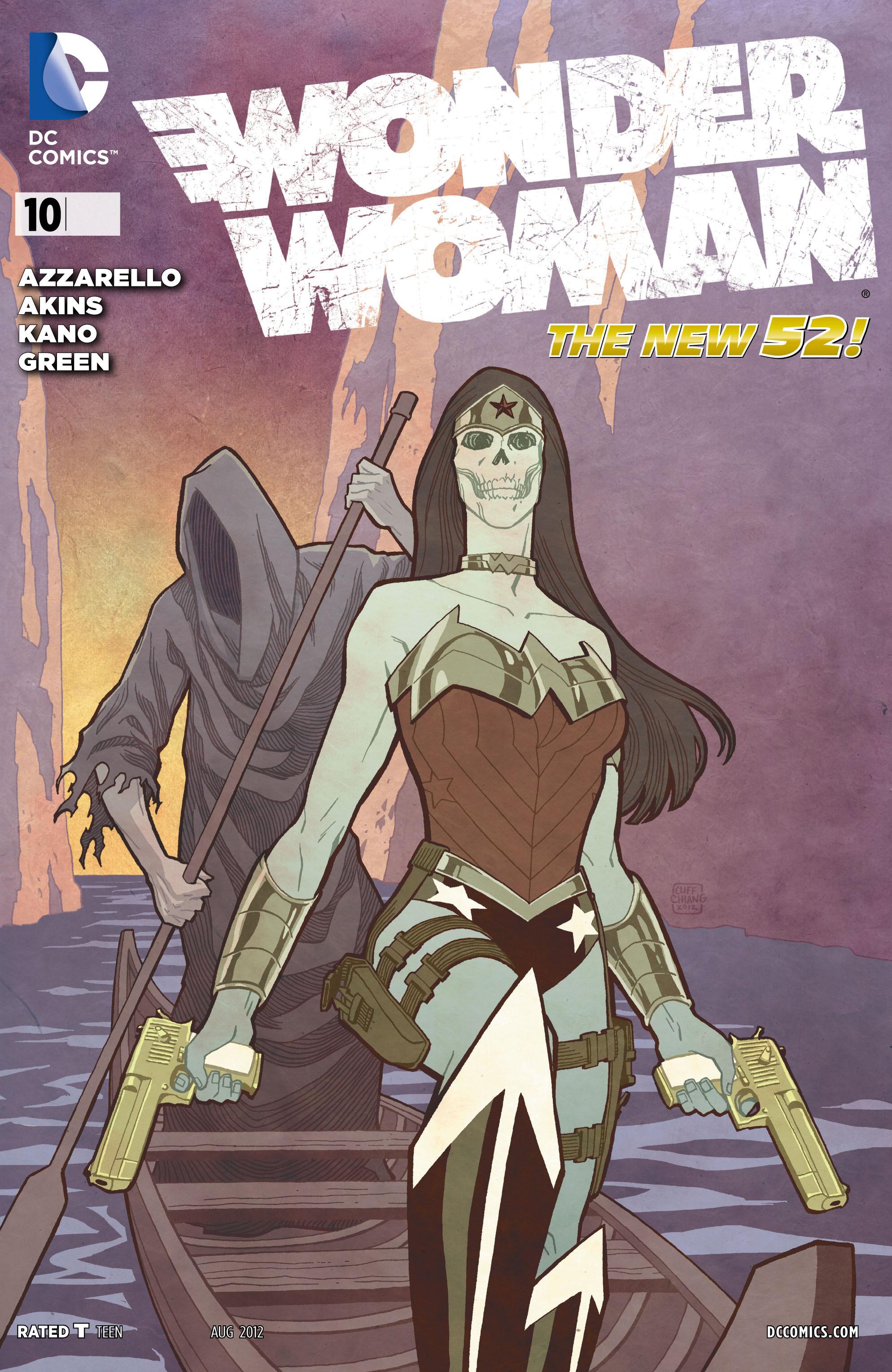 Read online Wonder Woman (2011) comic -  Issue #10 - 1
