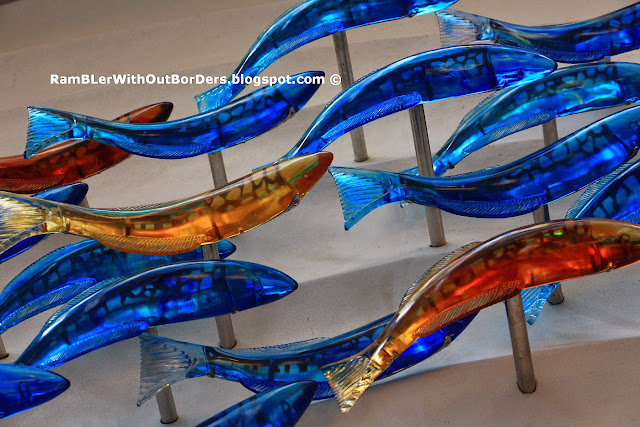 School of Fish by B Jan Cowie, Raffles Place, Singapore