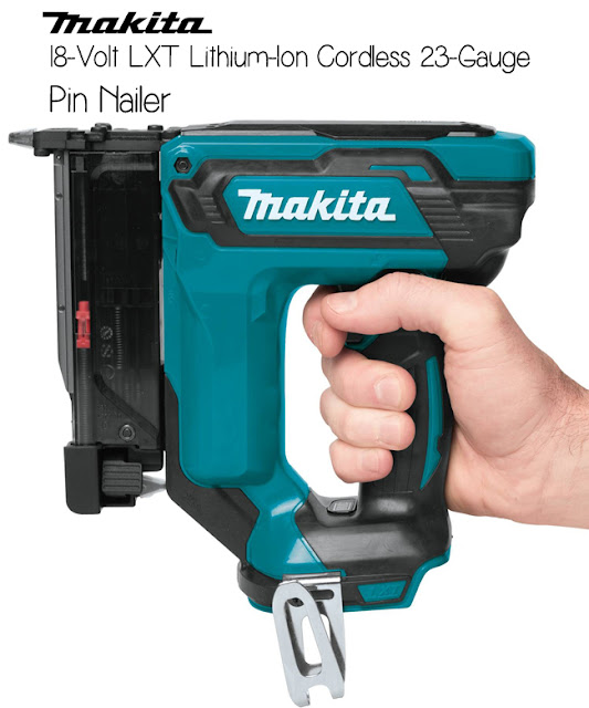 MAKITA 18-Volt LXT Pin Nailer - #thdprospective #tools