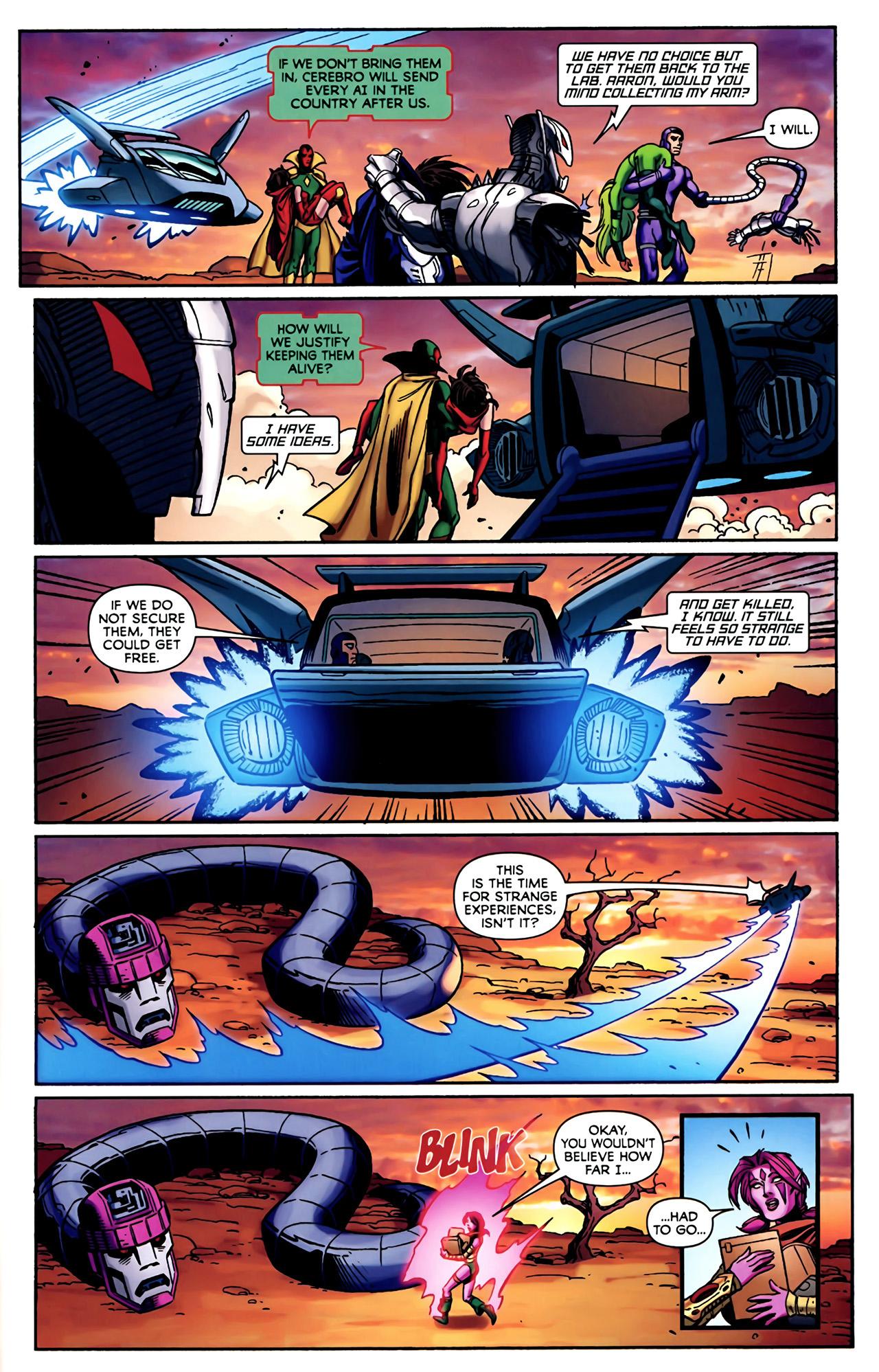 Read online Exiles (2009) comic -  Issue #4 - 20
