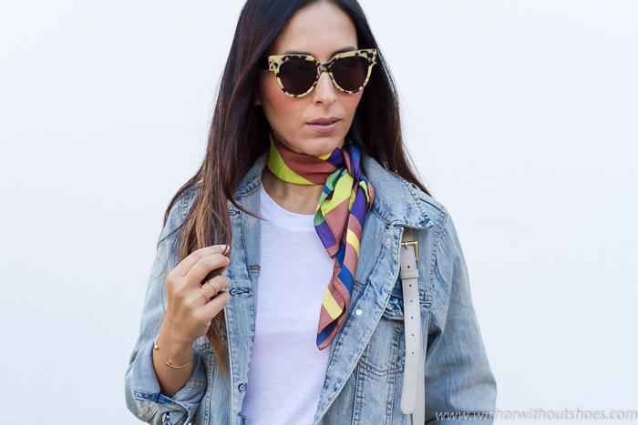 Blogger de moda de Valencia con looks diarios chic Zara