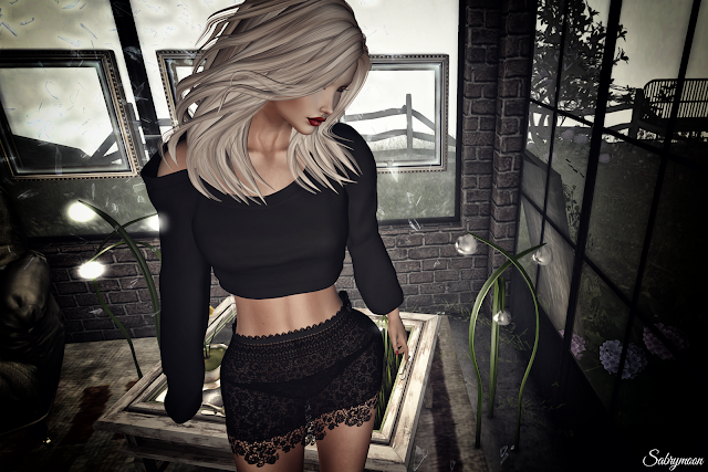 E-Clipse Design Dolcenera Pulli and Skirt @ Tres Chic and Exile Green Light hair @ Collabor88